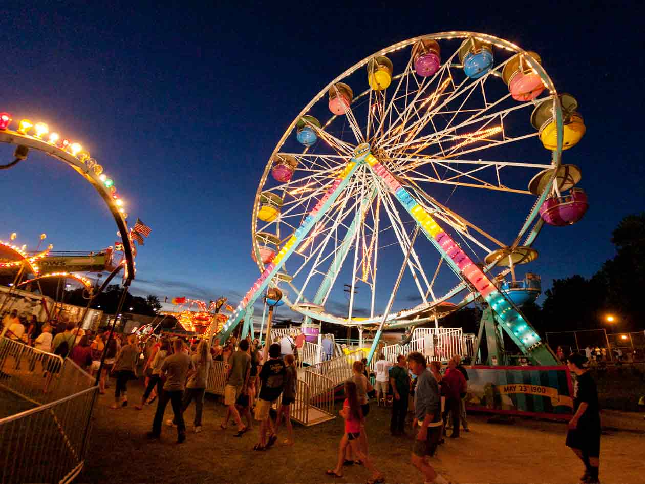 Carnival  Yarmouth Clam Festival  A Maine Summertime Tradition Since