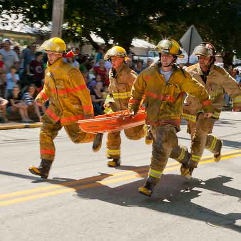Firefighters' Muster Competition