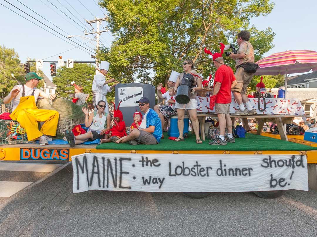 Clam Festival Parade 2016